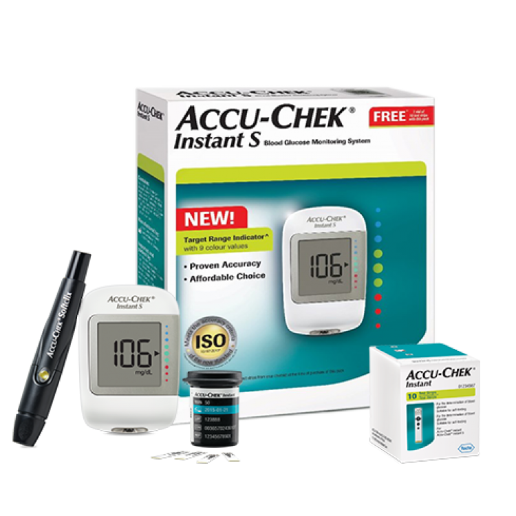 Accu-Chek Instant S Glucometer