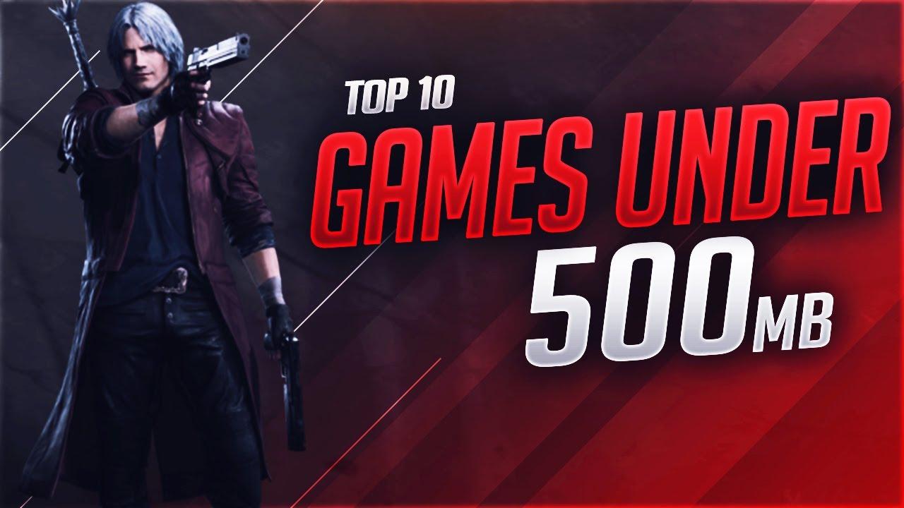 10 games under 500 mb