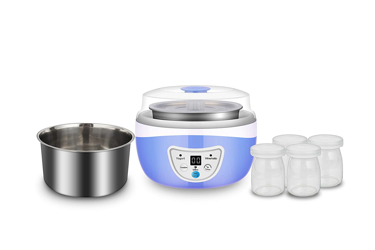 Libra LYM01 1-Litre Yogurt Maker