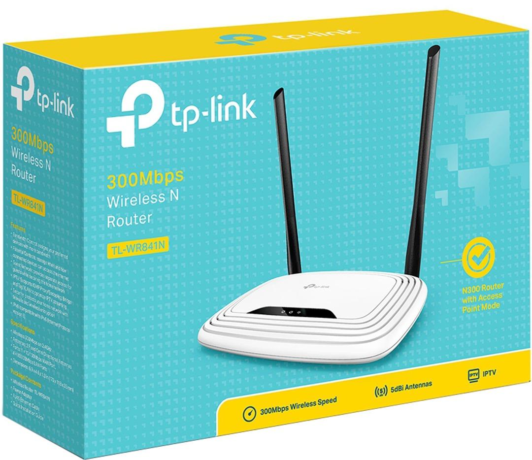 TP-Link TL-WR841N Wireless N 300 WiFi Router