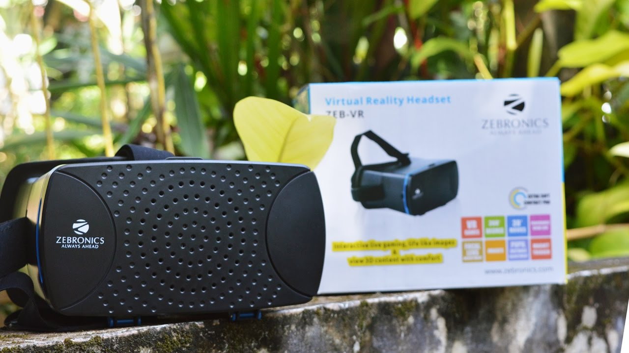 Zebronics ZEB-VR Virtual Reality Headset