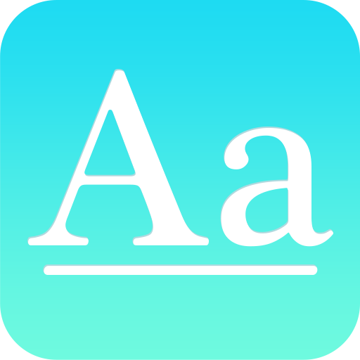font apps for iOS